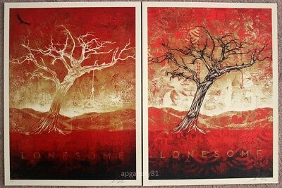 Obey Tom Dula print set AP by Shepard Fairey signed and numbered