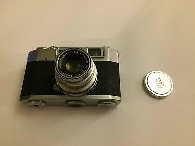 Vintage Pax M4 with 1:2.8 f=45mm Luminor Lens - Made in Japan
