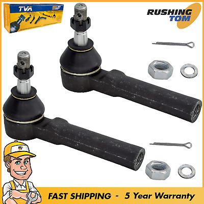 Front Outer Tie Rod Ends Pair For Chevy Impala Monte Carlo Silhouette Grand Prix