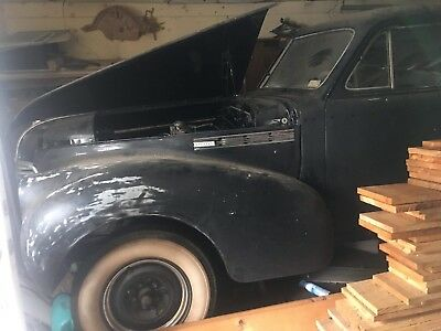 1940 Buick Special - 4 Door Sedan...8 Cylinder Fireball