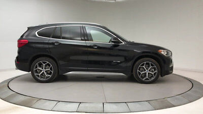 2018 BMW X1 sDrive28i Sports Activity Vehicle sDrive28i Sports Activity Vehicle 4 dr Automatic Gasoline 2.0L 4 Cyl Black Sapph