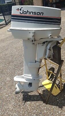 Johnson 30hp Outboard Motor - Electric Start