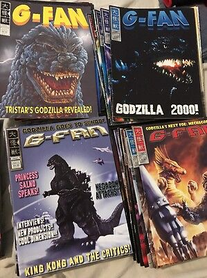 G-Fan Magazine Lot GODZILLA You Pick Any  Issue from 33 To 106   Check the list