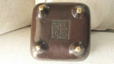 Genuine & Quality Chinese  Antique Bronze Incense Burner &