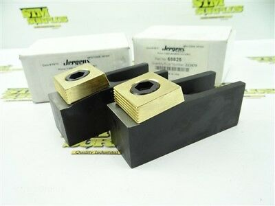 """New Pair Of Jergens Brass Shoe Clamps 4-1/4"""" Length #68825"""