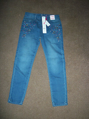 Girls blue Jeans size 6-7 years by M&Co kids NWT cost £16