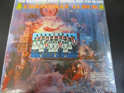 The Salvation Army School For The Blind From Kingston Jamaica ~ Christmas Lp