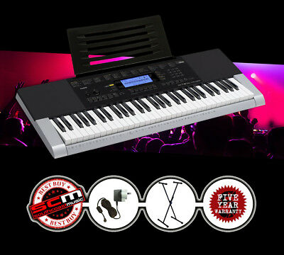 CASIO CTK4400 Portable Keyboard + Stand + Adapter PLUS 5% *cashback from Casio!