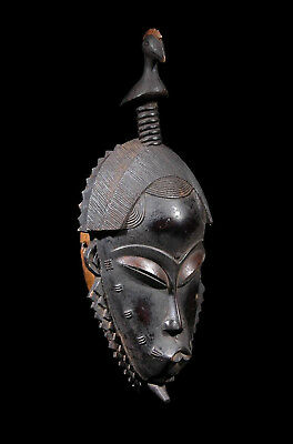 Tribal African Guro Gu Mask Buafle Ivory Coast Cote D'ivoire Ex Dagan Collection