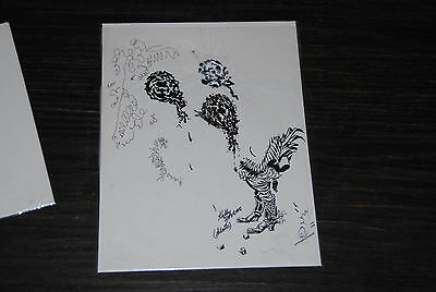 Frank Kelly Freas Vintage Original Comic Book Listed Artist Lot 3 Cool Chicken