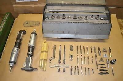 Cleco Pneumatic Reamers  + Various Bits, Collars, Tools & Wrenches 160 RPM