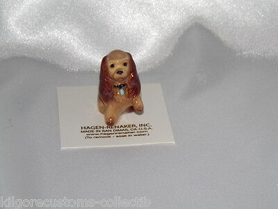 Hagen Renaker Dog Mama Cocker Spaniel Figurine Miniature 090 FREE SHIPPING NEW