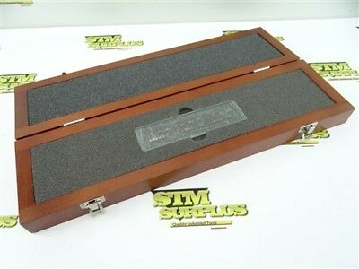 Nice! Mitutoyo Precision Working Standard Scale 100Mm Model Hl2-100 Series 182