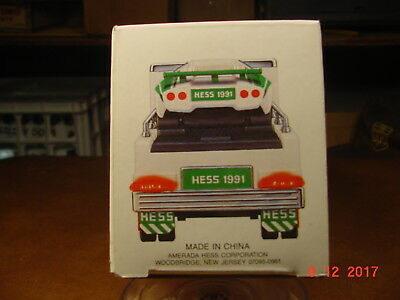 HESS 1991 Toy Truck and Racer