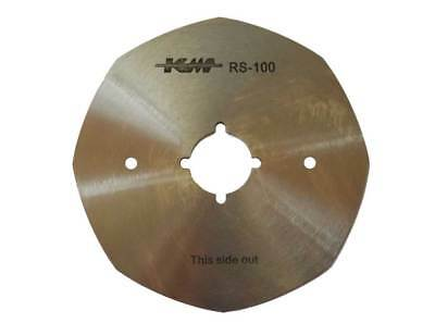 """4"""" Octagonal Replacement Blade for MANY Rotary Fabric Cutter Brands"""