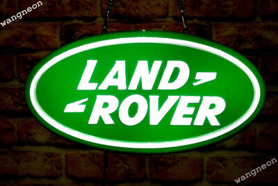 Land Rover LandRover Logo AUTO CAR DEALER 3D Routed Carved LED LIGHT BOX SIGN