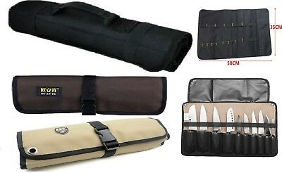 CHEF Knife Bag Roll knife Bag Carry Case Kitchen Portable Storage Protector NEW