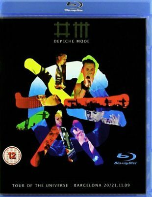 Depeche Mode: Tour of the Universe - Barcelona 20/21:11:09 Blu-ray (2010)