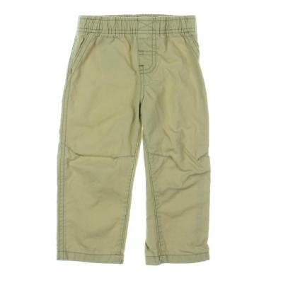 Polo Ralph Lauren 7121 Boys Suffield Tan Boy's Twill Straight Leg Pants 4 BHFO