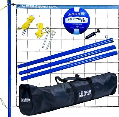 Park & Sun Sports Volley Sport Volleyball Set White New