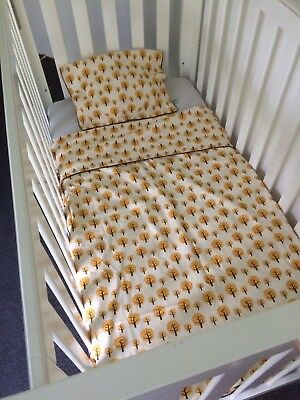 Kids FERM Living Retro Cot Quilt Cover - Donna Cover And Pillow Case