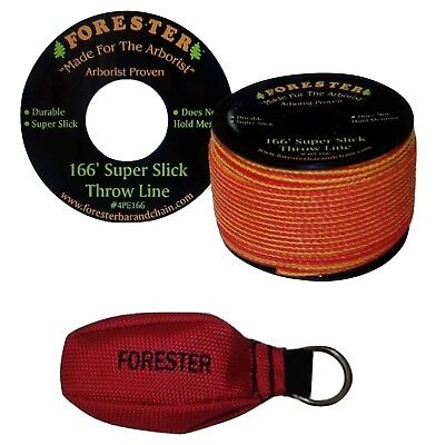 Forester 166 Foot Arborist Throw Line Kit New