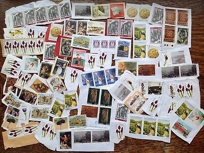Collection Of Unfranked Malta Stamps On Paper