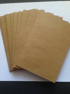 10 Blank A6 Kraft  Cards and Matching Envelopes - All Occasions