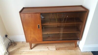 Vintage Glass fronted Side Unit (collest from Sidcup DA15 9HW)