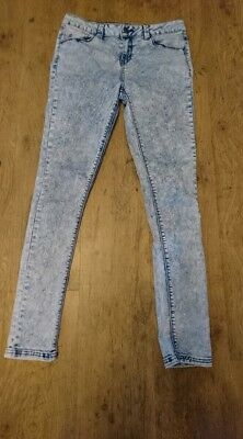 Girls New Look Skinny Jeans, age 14