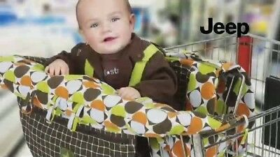 Jeep Shopping Cart and High Chair Cover, Universal Size, Polka Dot