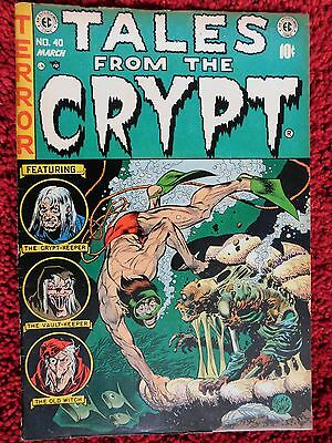 Tales From The Crypt #40 (1954) E.c. Comics Original