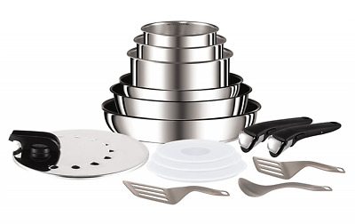 Tefal L94096 Ingenio Préférence Stainless Steel High Quality Non-Stick Pan/Pot S