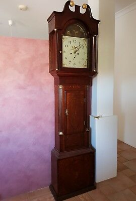 Antique English Longcase - Grandfather clock  Georgian- George III.