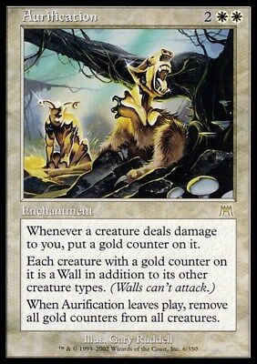 Aurification ~ Onslaught ~ Excellent+ ~ Magic The Gathering