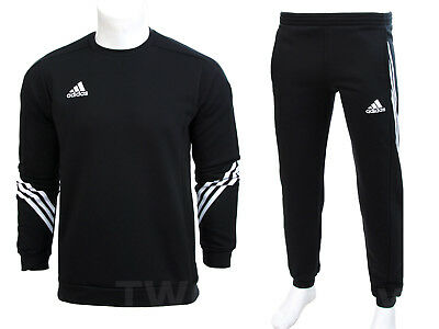 Adidas - Fleece Tracksuit Sweater Sweatshirt Joggers Jogging Bottoms Sweatpants