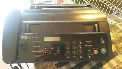 Hewlett Packard 2140 Professional Quality Paper Fax And Copier With Phone Built