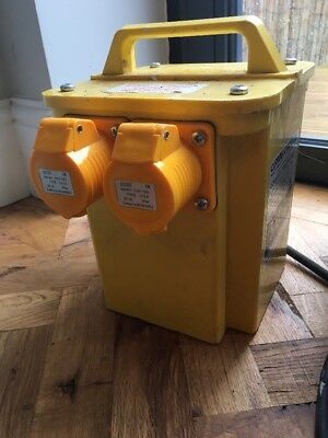 3.0 kVA 2 X Outlet Carroll & Maynell Construction Site Portable Tool Transformer