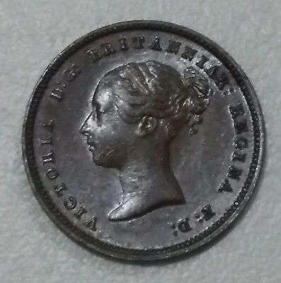 Vintage Queen Victoria  Very Old Coin Of Half Farthing 1842 Vf Grade