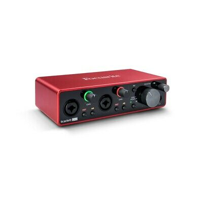 FOCUSRITE SCARLETT 2I2 2nd GENERATION SCHEDA AUDIO USB 2 IN / 2 OUT