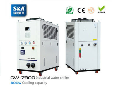 S&A AC380V 60HZ CW-7900FN Industrial Remmote Control Water Chiller Fiber Laser