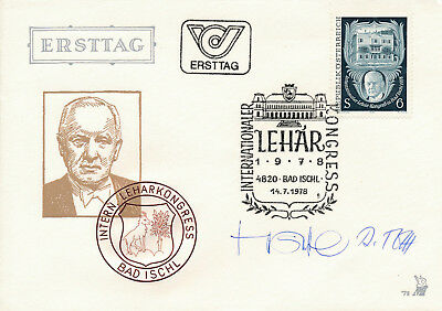 Ersttag 1978 - Internationaler Lehar - Kongreß    (817)