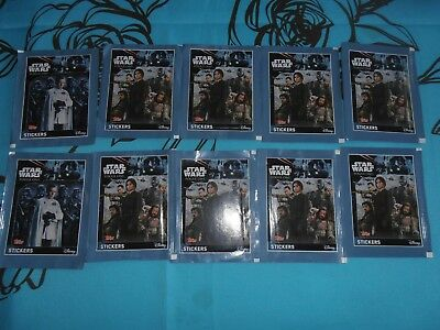 "Pochettes Stickers topps STAR WARS ""rogue one"""