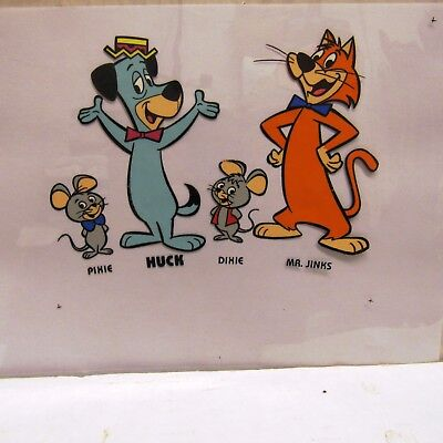 1958-61 Huckleberry Hound, Pixie Dixie Mr. Jinks Hanna Barbera  Production Cel