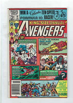 Avengers Annual #10 (NO RESERVE) 1st Appearance of Rogue