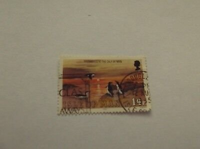 ISLE OF MAN (Great Britain) 1 Stamp - ideal collection starter stamp - LOOK!