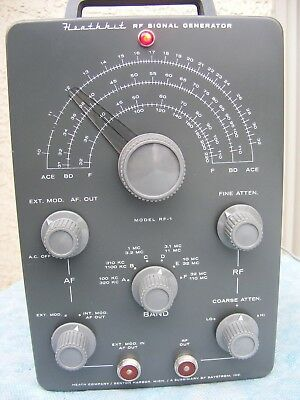 HEATHKIT RF Signal Generator model RF-1 (same as IG-102)