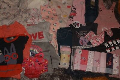 Girls bundle 12-18 months,jacket,jeans,outfits,dress,body&sleep suits,dungaree.