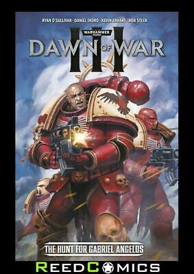 WARHAMMER 40000 DAWN OF WAR III GRAPHIC NOVEL Paperback Collects 4 Part Series