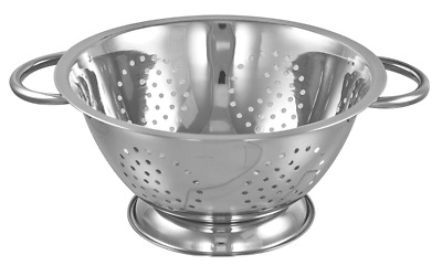 Buckingham Deep Stainless Steel Colander 8 Qt, 34 cm